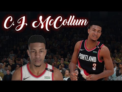 How to make C.J. McCollum in NBA 2K19