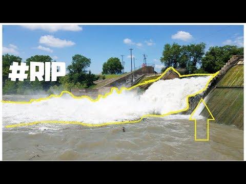 Lake Dunlap Dam BROKE***New Braunfels, TX 2019***
