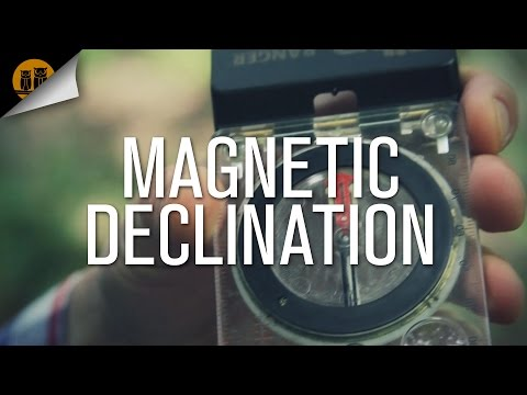 How to Use a Compass [Magnetic Declination]