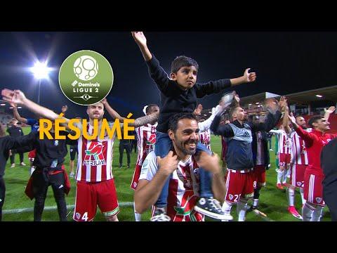 AC Ajaccio - RC Lens ( 2-0 ) - Résumé - (ACA - RCL) / 2017-18