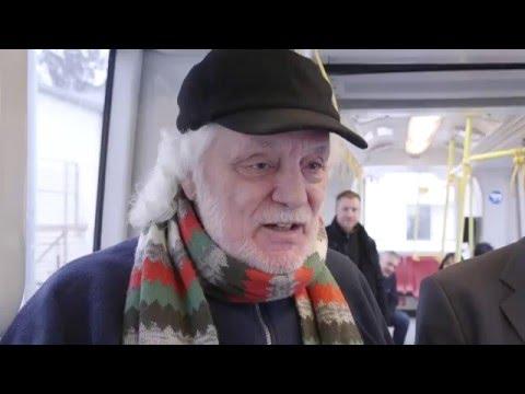Videodreh vom Strassenbahn-Michl am 23.01.2016 in Wien Hietzing