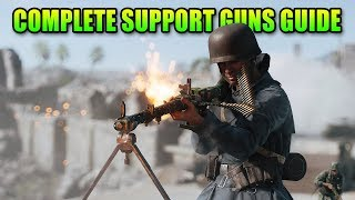 Best Support Guns & Specializations Guide | Battlefield 5