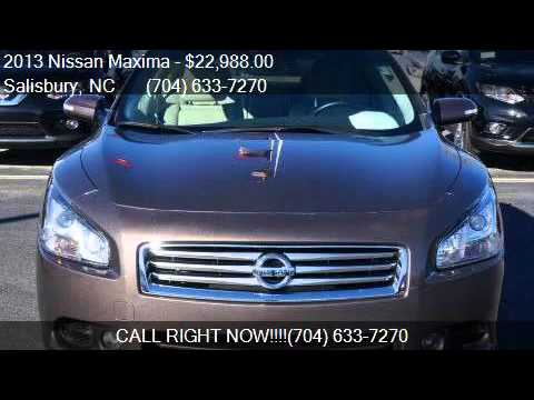 2013 nissan maxima 4dr sdn 3 5 sv for sale in salisbury nc youtube. Black Bedroom Furniture Sets. Home Design Ideas