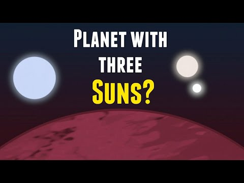 NASA Found An Alien Planet  With 3 Suns!