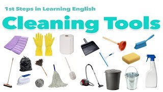 English Vocabulary - CLEANING TOOLS