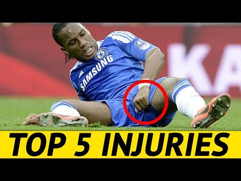 Top 5 Most Common Injuries Among Professional Football Players