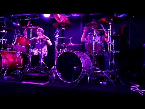 The Floating Greyhounds Bon Jovi ( Livin On A Prayer ) With Jack And Butty On The Drums Together