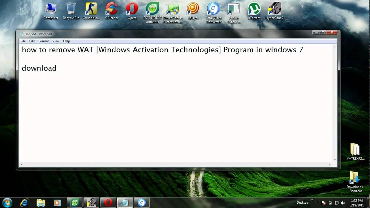 how to close a stubborn program on windows7