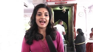 Nivetha Thamos Very Cute Speech || DVV Entertainments movie Opening || Nani & Aadhi