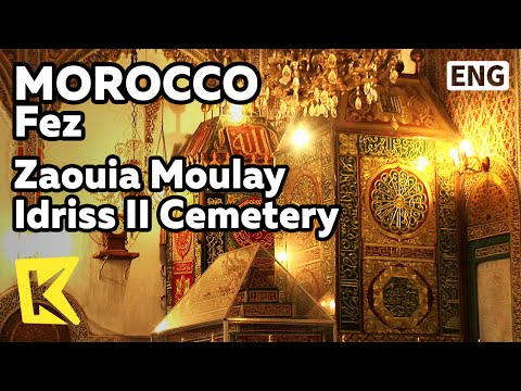 【K】Morocco Travel-Fez[모로코 여행-페스]물레이 이드리스 2세 영묘/Zaouia Moulay Idriss II Cemetery/Medina