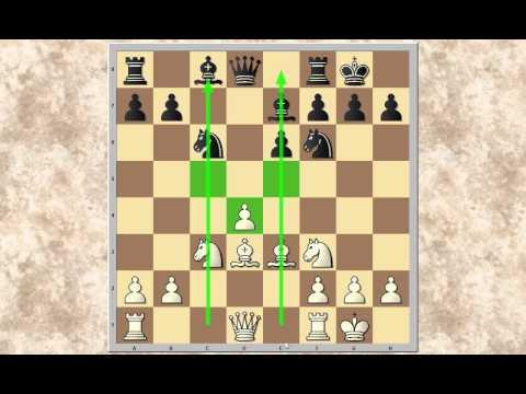 Wir lernen Schach 17 - Spiel mit und gegen einen Isolani