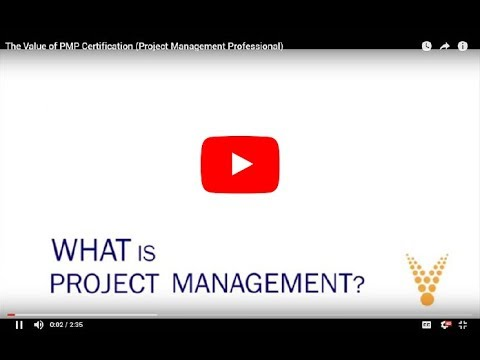 Value of The Project Management Professional (PMP)* Certification ...