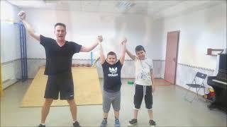 Фрагменты занятий Когнитивно-Комуникационной Физкультурой для детей с аутизмом.