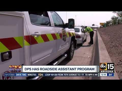 DPS Roadside Assistance Program Helps Stranded Motorists