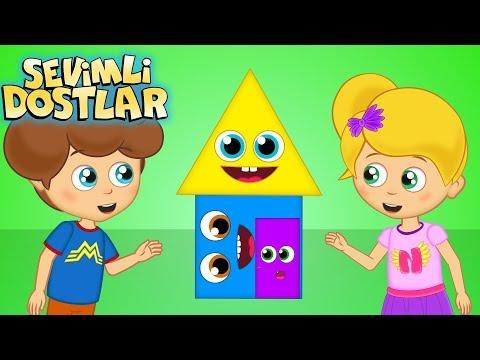 Bebek Şarkıları 2018 - Sevimli Dostlar Şekiller | Kids Songs and Nursery Rhymes