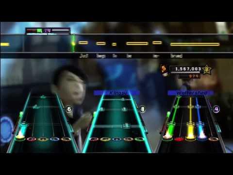 Girl's Not Grey - AFI Expert Full Band Guitar Hero 5