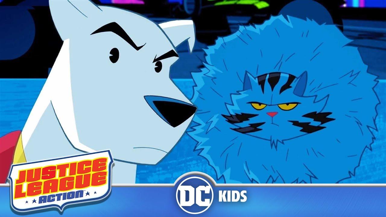 Justice League Action | Krypto's Challenge | DC Kids