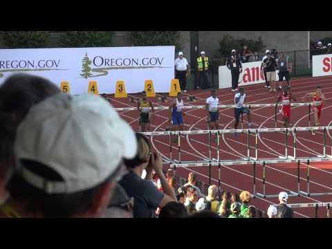 2014 World Juniors Eugene 110m hurdles final
