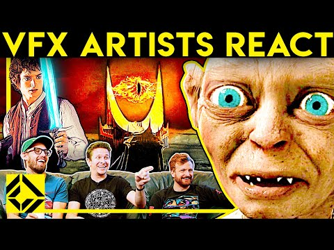 VFX Artists React to LORD OF THE RINGS Bad and Great CGi 1