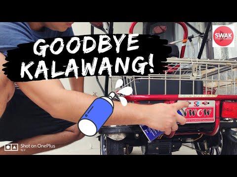 Goodbye Kalawang! | Effective Way To Avoid Rust On Ebikes And Motorcycles
