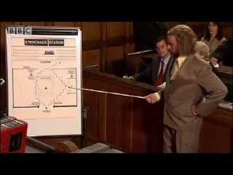 Court Case - Saxondale - BBC Comedy