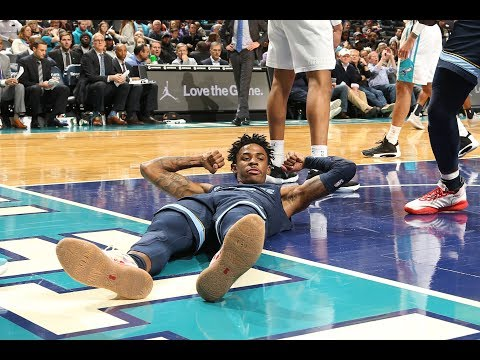 Ja Morant Lays In The Game Winner