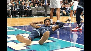 Ja Morant Made HIs First NBA Game-Winner To Beat The Charlotte Hornets