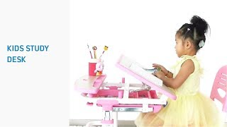 C304-Children's healthy desk & chair- Features Overview