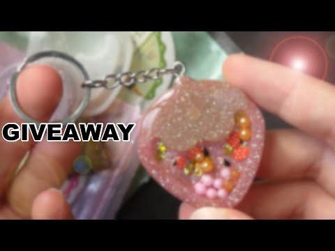 Watch Me Resin | Strawberry Shaker Giveaway (closed)