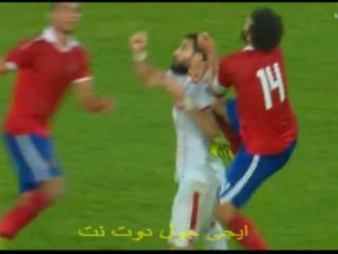 طرد حسام غالى - مباراة الاهلى والزمالك | كأس مصر 8-8-2016