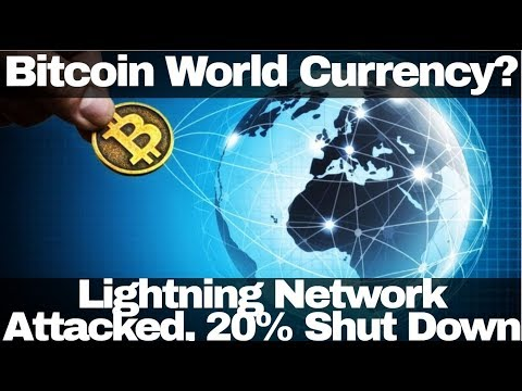 Crypto News | Bitcoin World Currency? Lightning Network Attacked, 20% Shut Down