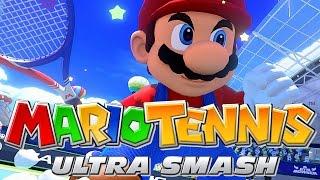 Mario Tennis: Ultra Smash [Father Vs. Son] - Wii U Gameplay