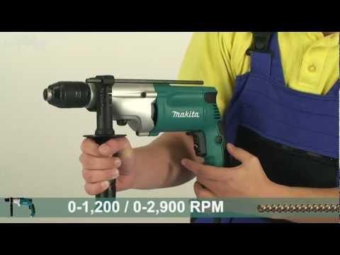 Makita HP2051 Hammer drill - w444w ENG