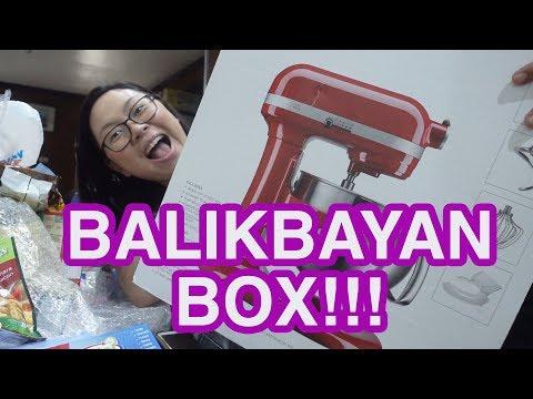 HUGE Balikbayan Box Haul from Canada 2018! Mom got her Dream Kitchen Equipment