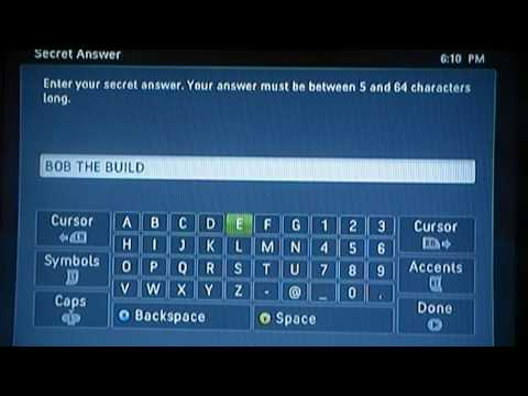 How to make an xbox live account