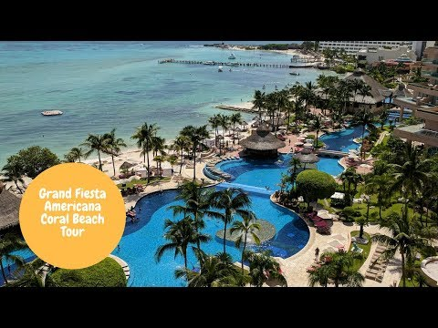 Grand Fiesta Americana Coral Beach Tour including rooms
