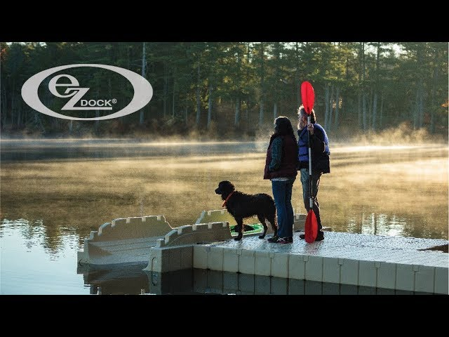 EZ Dock: EZ Kayak launch