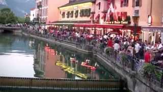Haute-Savoie #découverte en soirée de la vieille ville d'#Annecy
