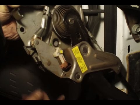 Emergency Brake Pedal Assembly & Stuck Brake Cable  YouTube