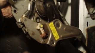 Emergency Brake Pedal Assembly & Stuck Brake Cable