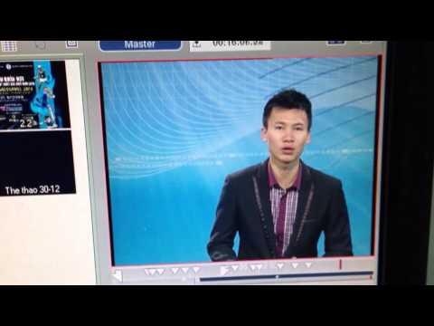 MC truyền hình bị tai nạn nghề nghiệp