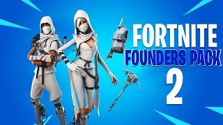 le New FREE FOUNDERS PACK ITEMS à Fortnite (Founders Pack 2)