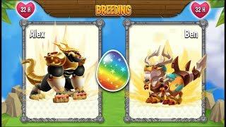 High Realm Dragon vs High Supremacy Dragon | Dragon City [RARE BREEDING DRAGON]