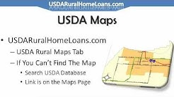 How To Buy A House That Qualifies For The USDA Home Loan - Where To Look