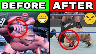 23 Realistic Features Removed From WWE Games