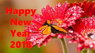 Happy New Year 2018 Wishes download Whatsapp song countdown wallpaper animation