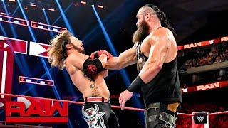 AJ Styles vs. Braun Strowman - United States Championship Match: Raw, Aug. 19, 2019