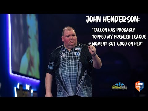 """John Henderson: """"Fallon has probably topped my Premier League moment but good on her"""""""
