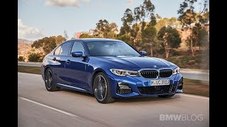 Another view of the new 2019 BMW 330i