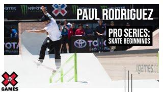 paul rodriguez skate beginnings espn x games